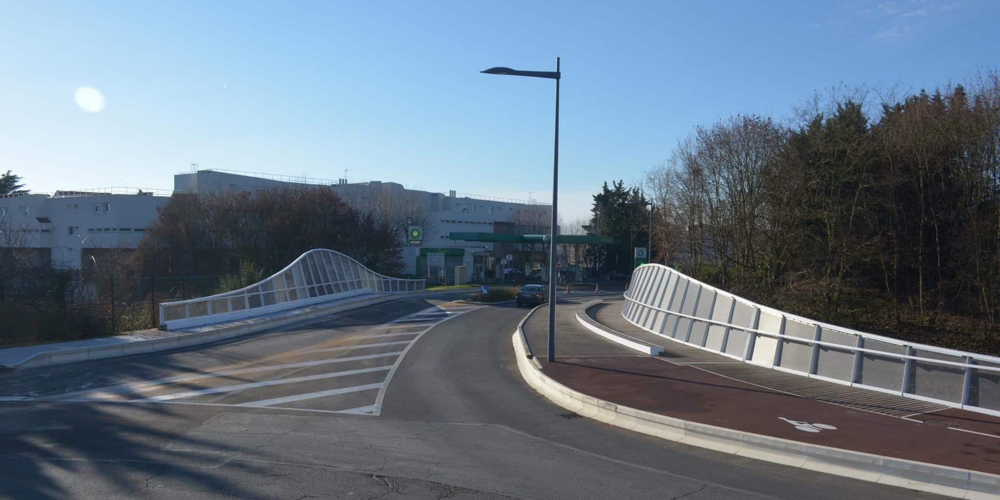 Passerelle Courcouronnes - DVVD