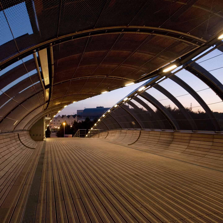 Passerelle du pôle multimodal de Villetaneuse - DVVD